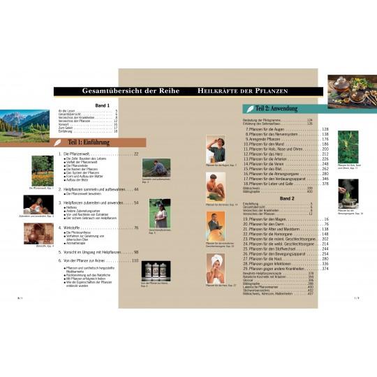 Heilkräfte der Pflanzen, Band 1+2