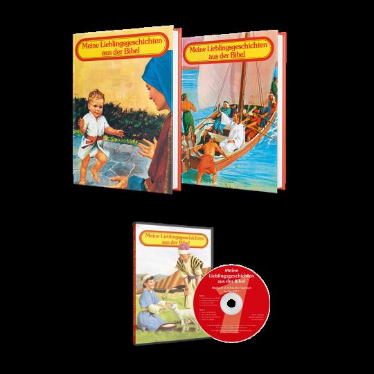 Meine Lieblingsgeschichten aus der Bibel, Bände 1+2