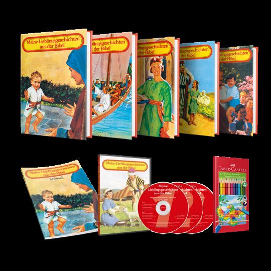 Meine Lieblingsgeschichten aus der Bibel, Bände 1-5